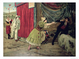 Scene from the Opera 'Pagliacci' by Ruggiero Leoncavallo, Giclee Print