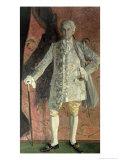 Portrait of Dmitry Smirnov as Chevalier Des Grieux in Jules Massenet's, Giclee Print