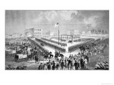 The Santee Sioux Uprising, Mankato, Minnesota, 1862, Giclee Print