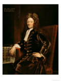 Portrait of Sir Christopher Wren, Giclee Print
