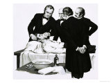 Dr. Crawford Long Renders a Student Unconscious Before Performing an Operation, Giclee Print