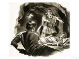 Yankee in King Arthur's Court. Illustration Based on the Story by Mark Twain