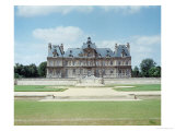 View of the East Facade of Chateau de Maisons-Lafitte, Built 1642-51, Giclee Print