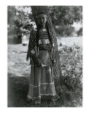 Sioux Maiden, Art Print, Edward Curtis