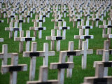 War Cemetery, Verdun, France, Giclee Print