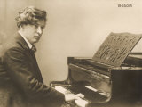 Ferruccio Benvenuto Busoni Italian Pianist and Composer, Photographic Print