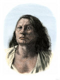 Chief Gall, a Sioux Leader in the Battle of Little Big Horn, Giclee Print