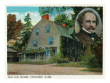 The Old Manse, Concord Mass., Art Print