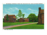 Lincoln's New Salem State Historic Site, Illinois, USA Photographic Print
