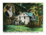 Orchard House, Concord, MA Art Print