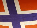 Norway Flag, Photographic Print