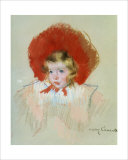 Child with Red Hat - Mary Cassatt, Art Print