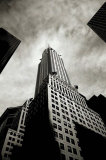 Chrysler Building Perspective, New York City, Poster