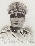 Benito Mussolini, Marshal Badoglio / TIME Cover: June 24, 1940