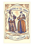 Playbill for Taming of the Shrew with Lunt and Fontanne, Art Print