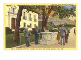Hot Springs Park, Arkansas Art Print