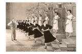 Busby Berkeley Dance Number, Giclee Print