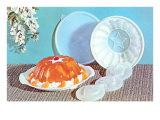 Orange Gelatin Dessert Art Print