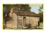 Mark Twain Cabin on Jackass Hill, Art Print