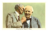 Henry Ford and Thomas Edison Art Print