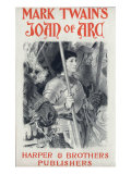 Joan of Arc, by Mark Twain, Illustration by Eugene Grasset, Harper and Brothers Publishers, 1894., Giclee Print