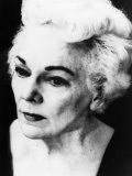 Katherine Anne Porter, American Writer, 1970s, Photographic Print