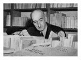Francois Mauriac Winner in 1952 of the Nobel Prize for Literature, Giclee Print
