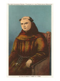Father Junipero Serra, California Missions, Giclee Print