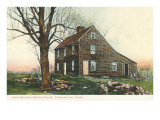 John Brown Birthplace, Torrington, Connecticut, Art Print