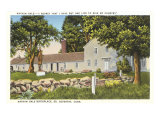 Nathan Hale Birthplace, South Coventry, Connecticut, Art Print