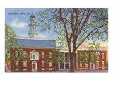 State House, Dover, Delaware Art Print