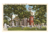 Old Swedes' Church, Wilmington, Delaware Art Print