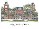 University of Arkansas, Art Print