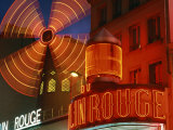 Moulin Rouge, Paris, France, Photographic Print