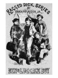 Ragged Dick series by Horatio Alger Jr., first published 1868, Giclee Print