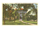 Swift Hall, Northwestern University, Illinois Art Print