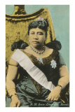 Queen Liliukalani, Hawaii, Giclee Print
