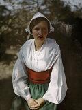 Selma Lagerlof, Swedish Writer, Giclee Print