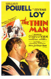 The Thin Man, Giclee Print