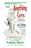 Anything Goes, Masterprint, 1934 Broadway Show