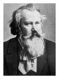 Johannes Brahms, 1879, Giclee Print