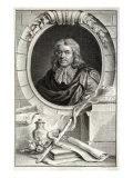 Thomas Sydenham, Engraved by Jacobus Houbraken, Giclee Print