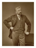 Gustave Eiffel French Engineer, Giclee Print