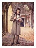 John Ruskin in Venice, Giclee Print
