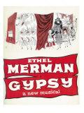 Gypsy, Masterprint, 1959, Broadway Show