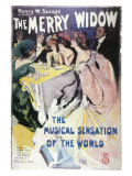 The Merry Widow, 1907 Broadway, Masterprint