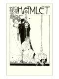 Hamlet Illustration by Beardsley, Giclee Print