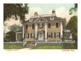 Longfellow's House, Cambridge, Mass., Art Print
