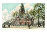 Harvard University, Cambridge, Massachusetts Art Print