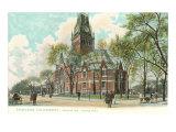 Harvard University, Cambridge, Massachusetts Art Print